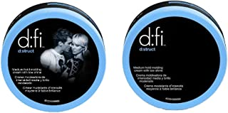 D:fi D:struct Medium Hold Molding Creme with Low Shine, 2.6 Ounce (2 Pack)
