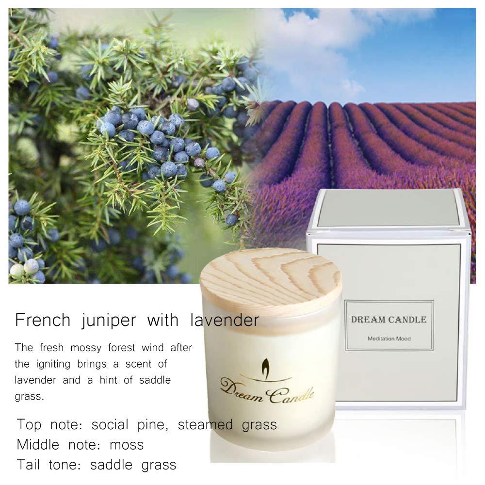 Vela Perfumada Sin Humo,Caja De Regalo De Aire Purificador De Velas De Soja Anshen,Lavender: Amazon.es: Hogar