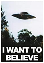 Kopoo X Files I Want to Believe Mulders Office Tv Show Poster, 12