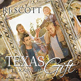 Texas Gift                   By:                                                                                                                                 RJ Scott                               Narrated by:                                                                                                                                 Sean Crisden                      Length: 4 hrs and 5 mins     8 ratings     Overall 4.5
