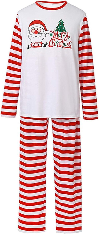 ANJUNIE Dad Mommy Me Sleepwear Suit Printed Top+Pants Xmas Family Matching Pajamas Set Christmas