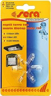 Sera 31137 - Bombillas LED Azules para Parte Superior de Bicicleta Marin Biotop Cube 130 (6 Unidades)