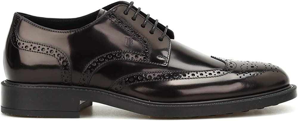 Tod`s derby,mocassini,scarpe per uomo,in pelle al 100% XXM45A00C10AKTB999