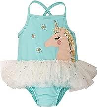 unicorn swimsuit baby