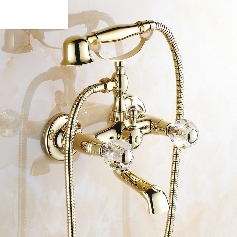 Kupfer antike Badewanne European-Style Dusche Mixer Mit schwenkbaren Wasserhahn-G
