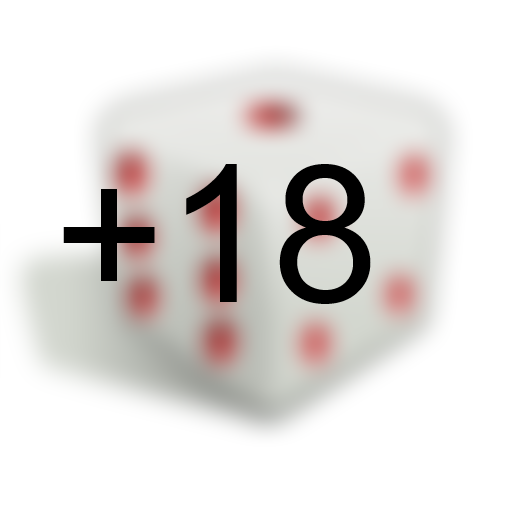 Dé magique +18