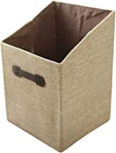 Yardwe Fabric Storage Bins Burlap Foldable Laundry Nursery Storage Cube Baskets Organizer for Kids Toys Books Clothes