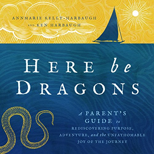 Here Be Dragons audiobook cover art