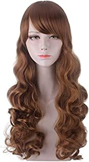 YYCHER Hermione Jane Granger Cosplay Wig Light Brown Curly Hair Heat Resistant Synthetic Hair Perucas Halloween Party Cost...