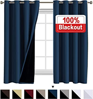 green eyelet blackout curtains