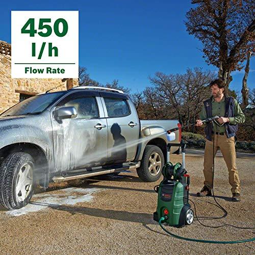 Bosch AdvancedAquatak 140 pressure washer Upright Electric Black,Green 450 l/h 2100 W AdvancedAquatak 140, Upright, Electric, 8 m, High-pressure, 5 m, Black,Green