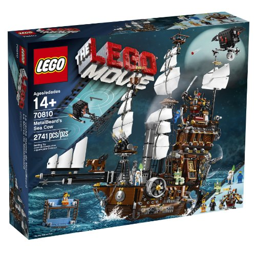 LEGO Movie 70810 Metal Beard's Sea Cow (Discontinued by manufacturer) by LEGO Movie