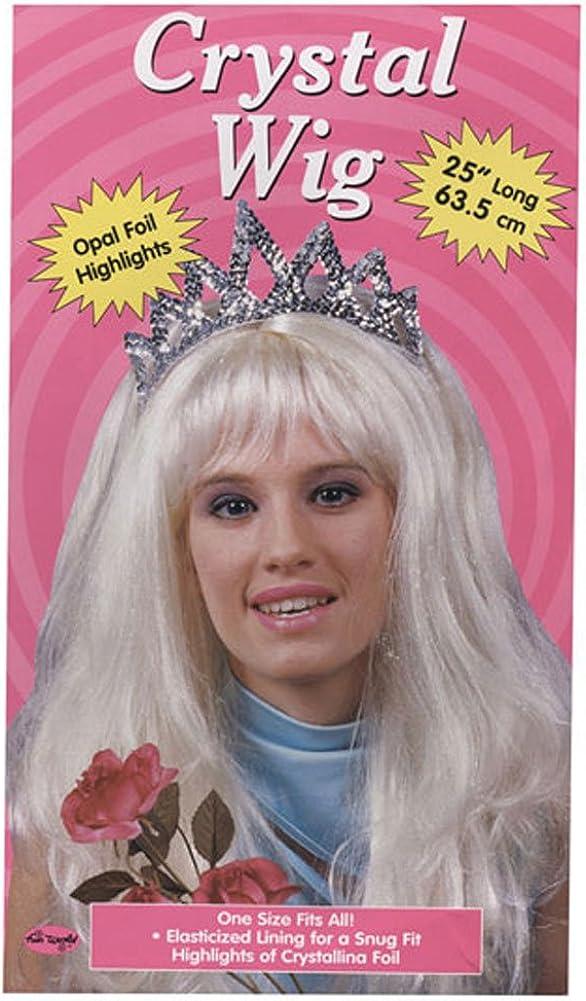 Morris Costumes Crystal Daily bargain sale Blonde Wig Special sale item