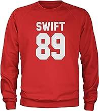 Expression Tees Swift 89 Birth Year Crewneck Sweatshirt