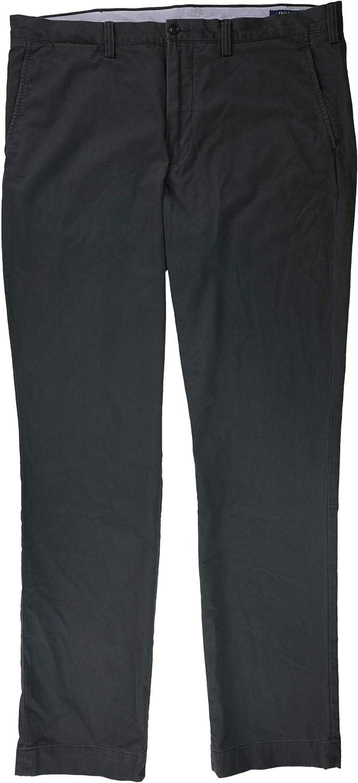 Ralph Lauren Mens Bedford Stretch Casual Chino Pants, Grey, 38W x 29L