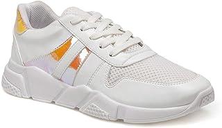 CS20005 Beyaz Kadın Spor Ayakkabı