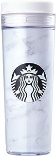 海外限定 スタバ マーブルホワイトタンブラー Starbucks Marble White Iconic Tumbler 473ml [並行輸入品] (Marble)