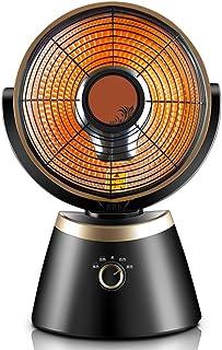 Radiador eléctrico MAHZONG Calentador de Ventilador Vertical Independiente de 800 W, 3 configuraciones