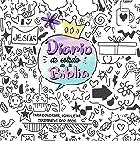 Diario de estudio de la Biblia para niñas.Un cuaderno interactivo para escribir un diario inspirado por Dios ,tomar apuntes del estudio de la Biblia,anotar versículos bíblicos y pintar