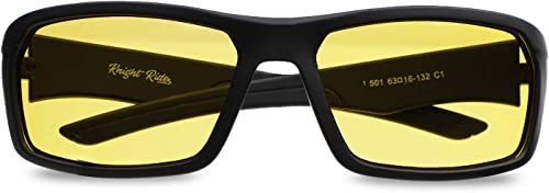 Wrap Around Unisex Night Vision Sunglasses With 100 UV Protection