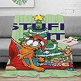 Elliot Dorothy Christmas Garfield - Manta de franela para todas las estaciones (3)