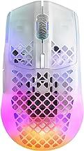 SteelSeries Aerox 3 Wireless - Super Light Gaming Mouse - 18,000 CPI TrueMove Air Optical Sensor - Ultra-Lightweight Water...