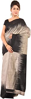 Ruprekha Fashion Women's Cotton Silk Tie & Dye Handloom Saree