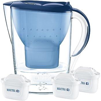 Brita 1033316 Jarra Marella 2,4L Azul con 3 filtros MAXTRA+: Amazon.es: Bricolaje y herramientas
