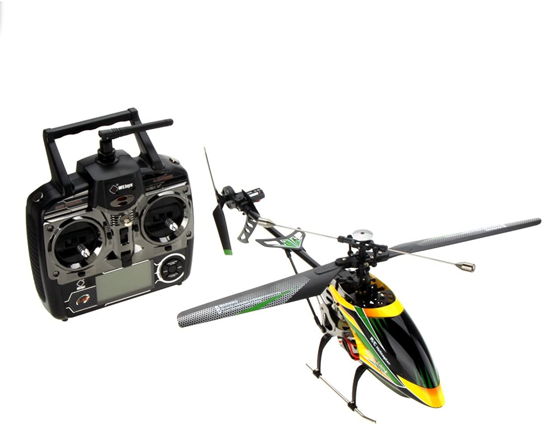 Goolsky WLtoys V912 Brushless Upgrade-Version Perfekt 4CH Single Blade RC Hubschrauber Orange