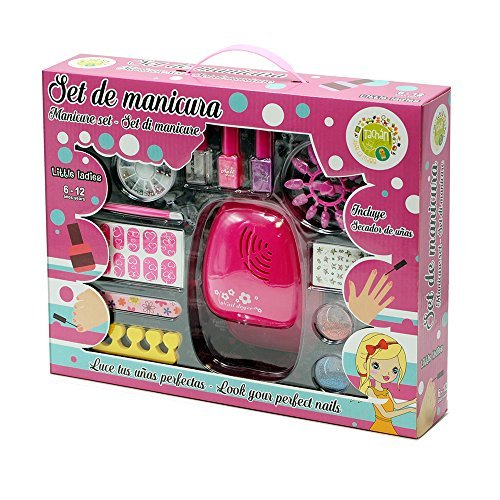 Tachan- Kit de manicura con secador de uñas (CPA Toy Group
