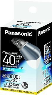 パナソニック EVERLEDS LED電球(密閉型器具対応・E17口金・小形電球斜め取付専用形・電球40W相当・480ルーメン・昼光色相当)LDA6DE17BH