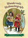 Wundervolle Weihnachtsgrüße: 12 Weihnachtskarten