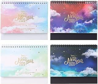luosh 5 Pezzi Note sul Calendario 100 Giorni Conto alla rovescia Calendario Calendario Apprendimento Obiettivi Pianificatore di Lavoro Agenda Periodica Forniture per Ufficio