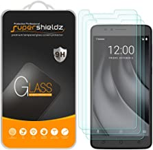 (3 Pack) Supershieldz for T-Mobile (Revvl Plus) Tempered Glass Screen Protector, Anti Scratch, Bubble Free