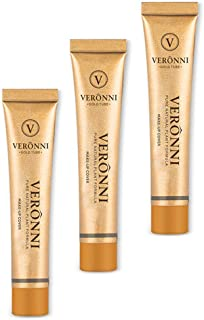 VERONNI Full Coverage Makeup Cover Concealer Tattoo Cover Up Waterproof Foundation Amazing Scar Make Up Concealer SPF 30 1.1OZ/30g (211)