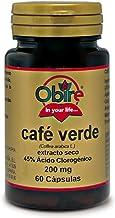 Café verde 200 mg. (ext. seco 45% ácido clorogénico) 60