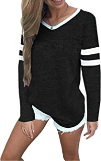 Best baseball t shirt stripes Reviews