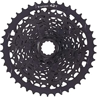 microSHIFT Advent H09 Cassette - 9 Speed, 11-42T, ED Black