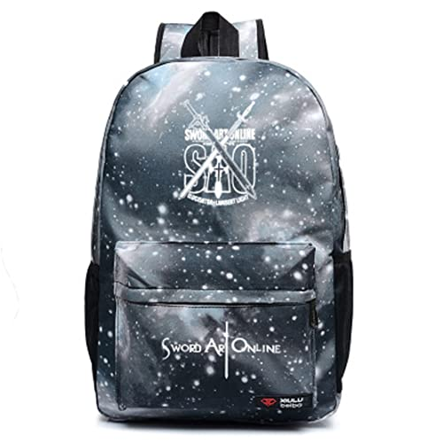 Anime Sword Art Online SAO Cosplay Bag Backpack School Bag