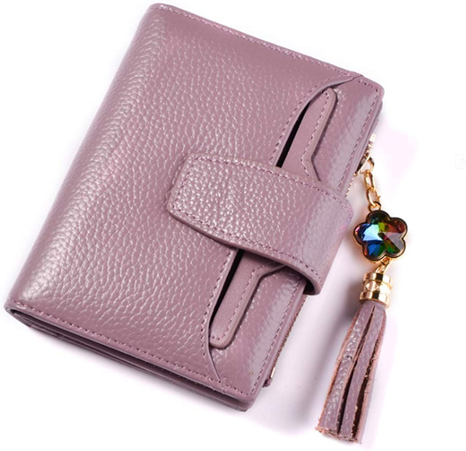 Wallet Women's Wallet Three Fold Tassel Wallet Four colors to Choose from