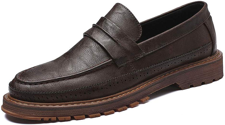 FuweiEncore 2018 Herren Einfache und Flexible Sohle Martin Formal Formal Formal Business Oxford Casual Klassische Schuhe (Farbe   Schwarz, Größe   44 EU) (Farbe   Braun, Größe   44 EU)  133220