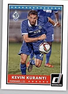 2015 Donruss Soccer #93 Kevin Kuranyi Dynamo Moscow Official Panini Futbol Trading Card