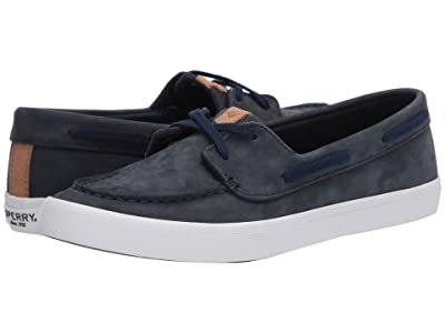 Sperry Sailor Boat Nubuck (Navy) Women