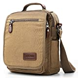 XINCADA Mens Bag Messenger Bag Canvas Shoulder Bags Travel Bag Man Purse Crossbody Bags for Work...