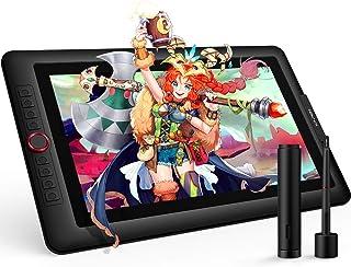 XP-PEN Artist 15.6 Pro Tableta Gráfica15.6 Pulgadas HD IPS P05R con Función de Inclinación 8 Teclas de Atajo y 1 Dial Roja...