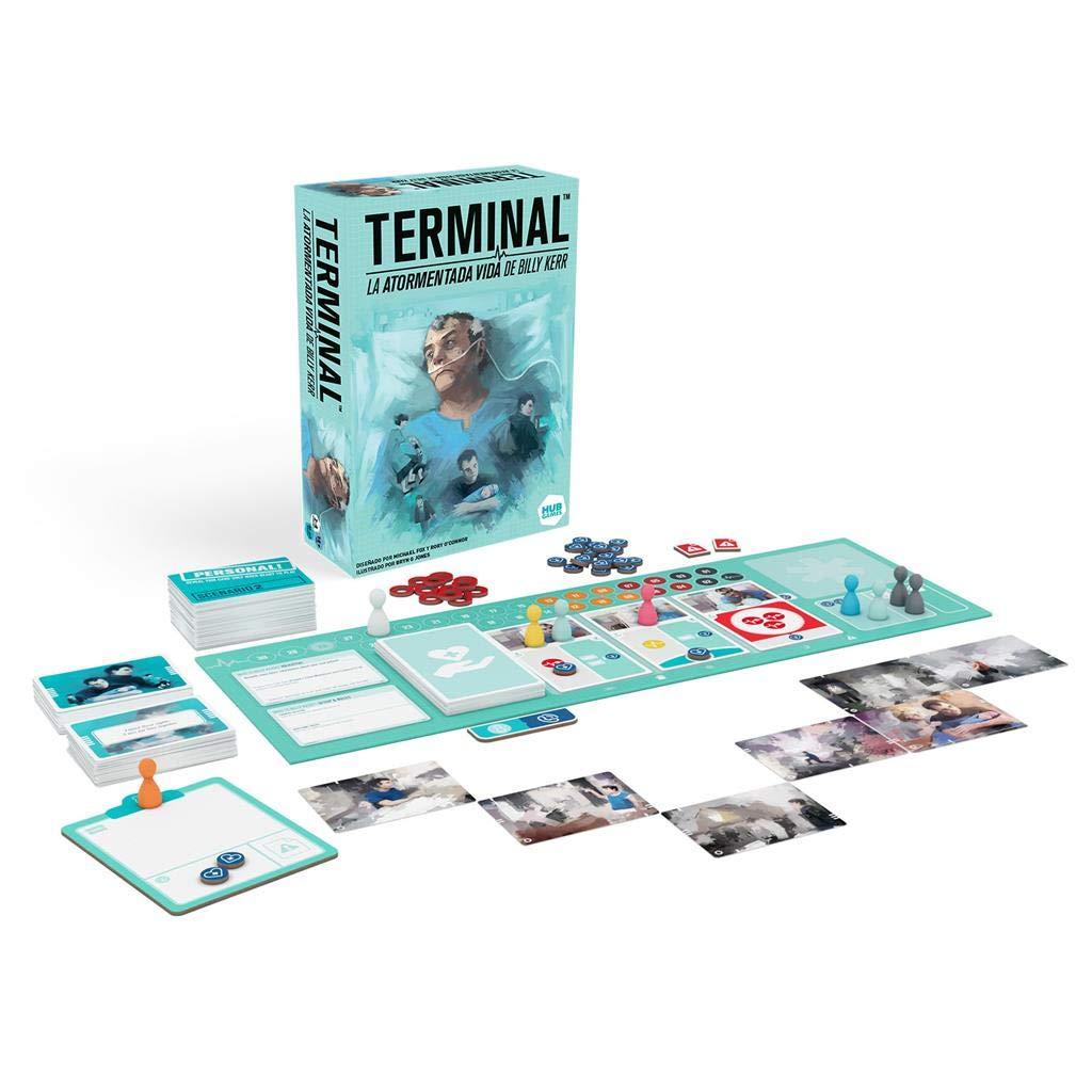 HUB Games- Terminal: La Atormentada Vida De Billy Kerr, Multicolor, Talla Única (HLN01ES): Amazon.es: Juguetes y juegos
