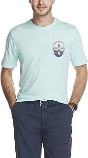 IZOD Men's Saltwater Short Sleeve Graphic T-Shirt