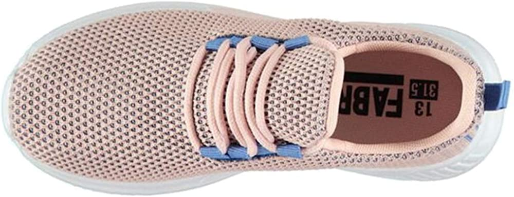 Fabric Childrens Mesh Upper Lace Santo Trainers