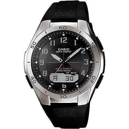[カシオ] 腕時計 ウェーブセプター 電波ソーラー WVA-M640-1A2JF ブラック