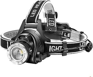 【進化版】Helius LEDヘッドライト USB 充電式 電気出力 高輝度 CREE L2 LED 明るい1600ルーメン ズーム 3モード Led ライト ヘッドランプ 人感センサー機能付き 電量ディスプレイ可能 軽量 防水 防災 登山 釣...